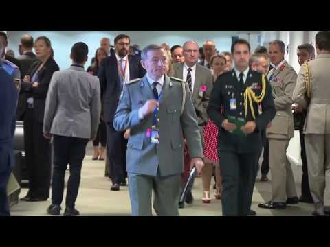 NATO Defence Ministers Meetings: Arrivals