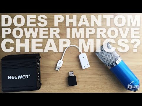Does Phantom Power Improve Your Condenser Mics Audio?