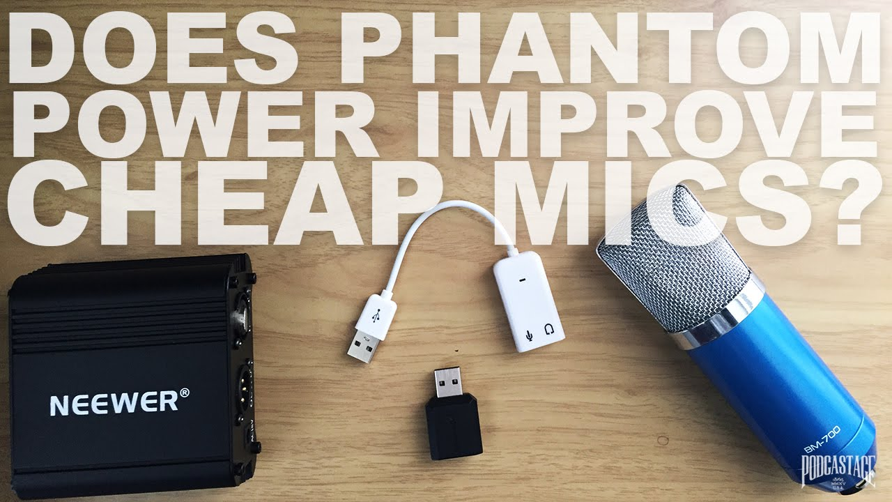 Does Phantom Power Improve Your Condenser Mics Audio Youtube K6 700 Watt Amplifier And Switching Supply Premium