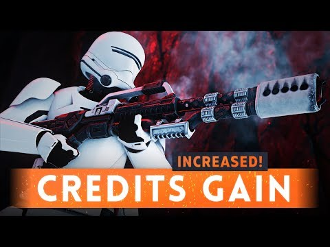 ► DICE HAS INCREASED THE CREDIT GAIN: 3X MORE! - Star Wars Battlefront 2