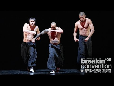 Avant Garde Dance: Classical Break at Breakin' Convention 2009 [bboy + classical music]