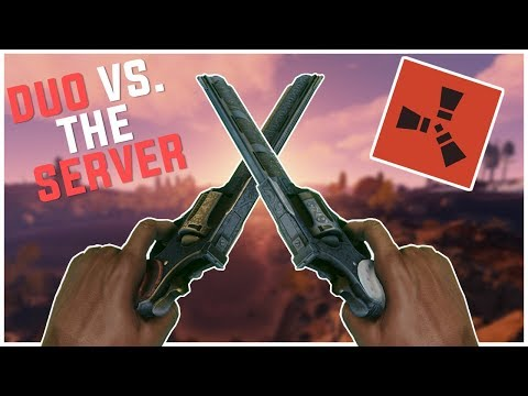 Rust - The PERFECT Duo VS. The WHOLE Server (Rust Duo Raiding, & PvP Highlights)