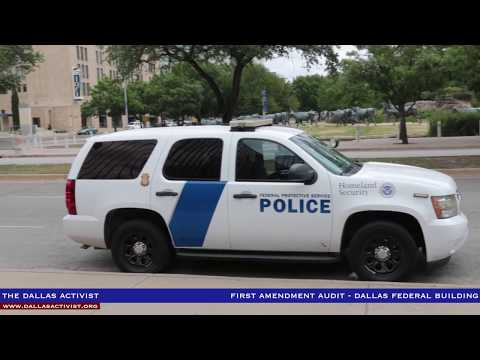 First Amendment Audit - Dallas Federal Building