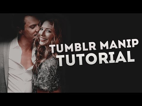 TUMBLR MANIP TUTORIAL | Manip Photoshop tutorial |