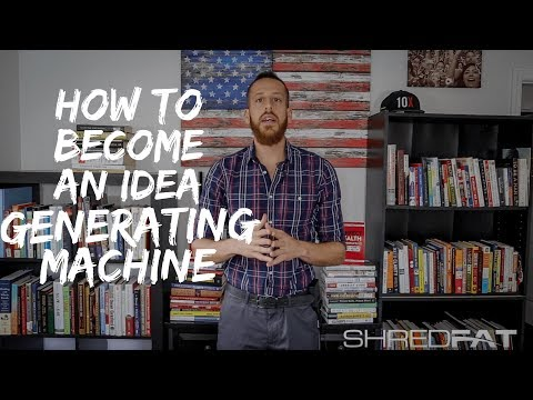 How To Become an Idea Generating Machine