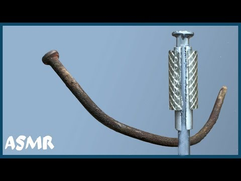 Не вздумайте выкидывать ржавые гвозди. Что можно сделать из старого гвоздя.   ASRM видео )