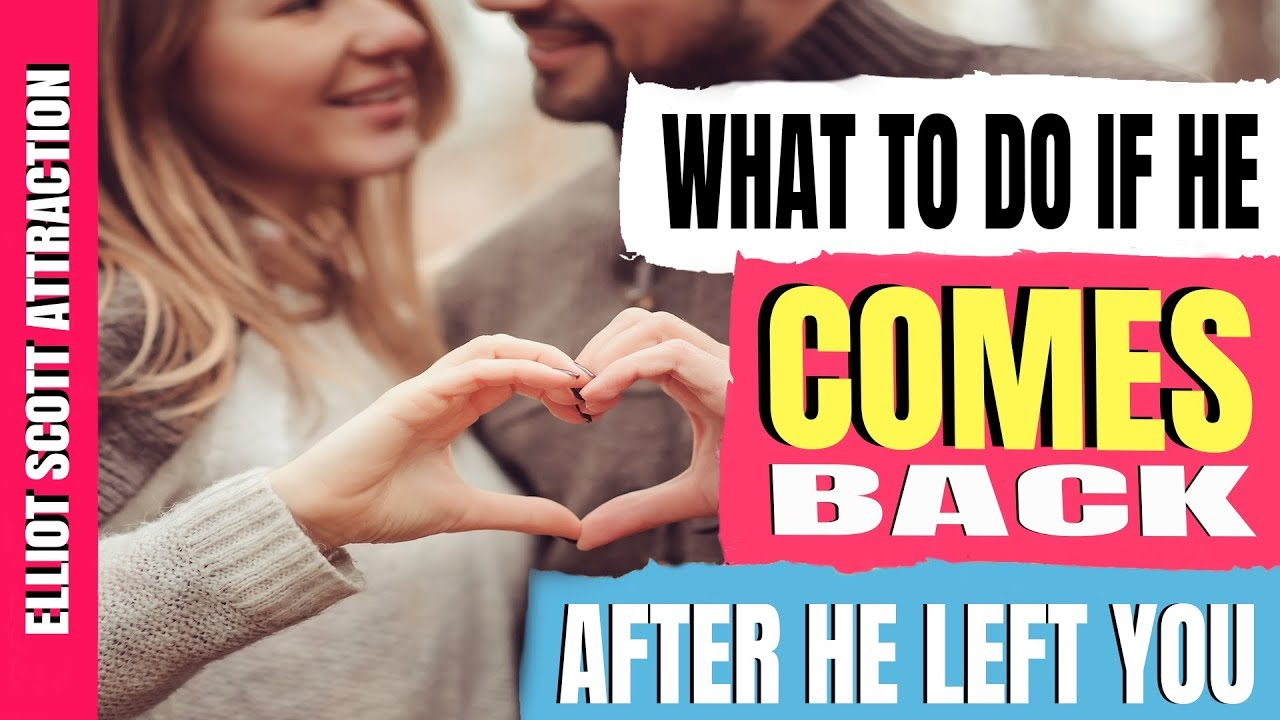 Letting Him Go to Get Him Back - If You Do These 5 Things
