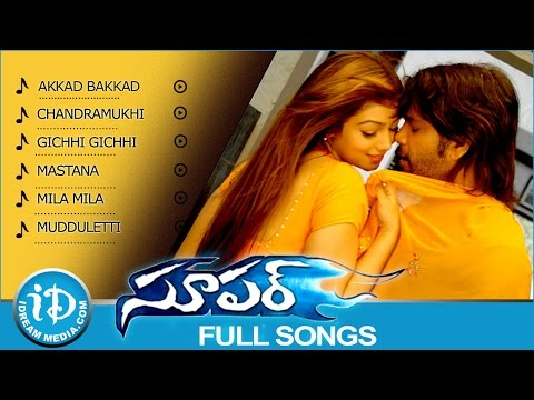 Super Movie Songs || Juke Box || Nagarjuna - Ayesha Takia - Anushka Shetty || Sandeep Chowta Songs