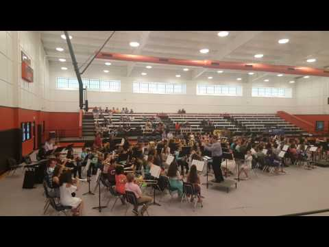 Morris Upchurch Middle School Beginning Band--Banana Boat Song