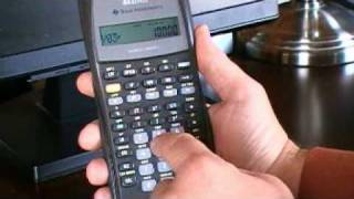 Statistics calculations using the TI BAII Plus calculator