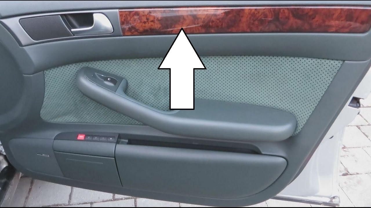 Service Manual Removing Door Card 1995 Audi A6 1995 2 8l Window Regulator Replacement