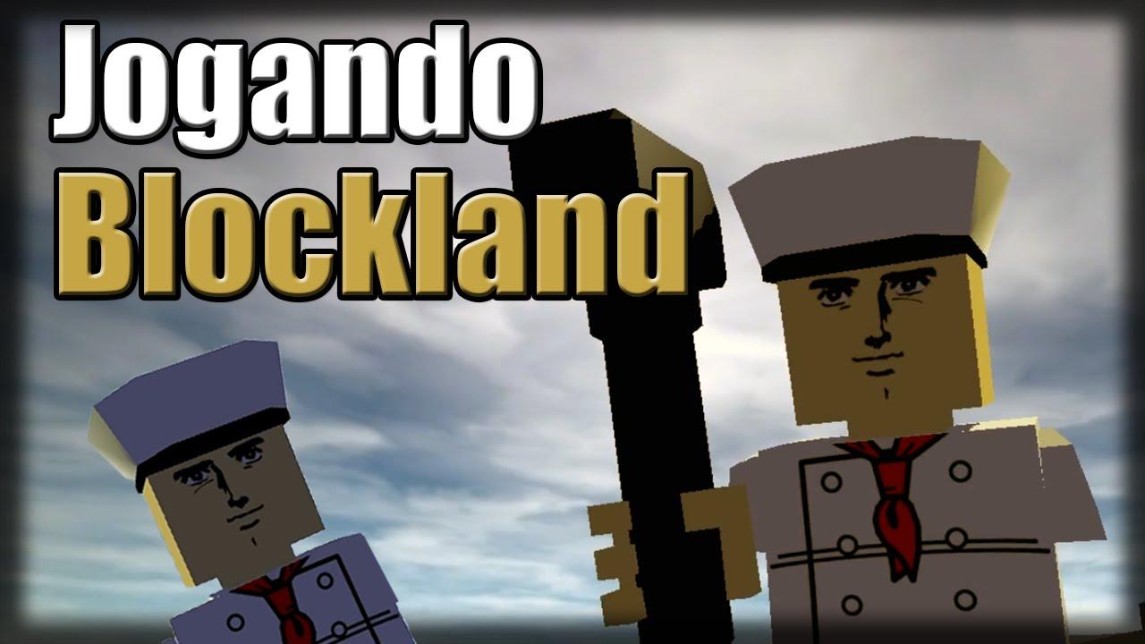 Jogando Blockland - Roblox Brutal - YouTube