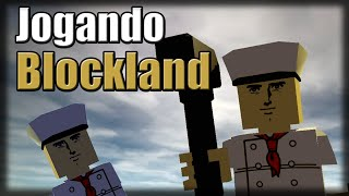 Playing Blockland-Brutal Roblox
