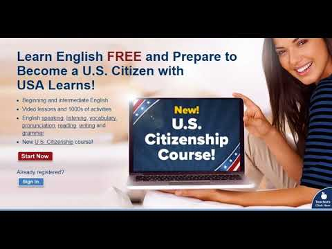 NEW COURSE:  USALearns Citizenship