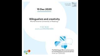 Korenar: Bilingualism and creativity