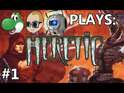 Let's Play Brutal Heretic - Part 1 [CO-OP]