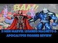 "X-Men Marvel Legends 6"" Magneto &  Apocalypse Buid-A-Figure Reviews"