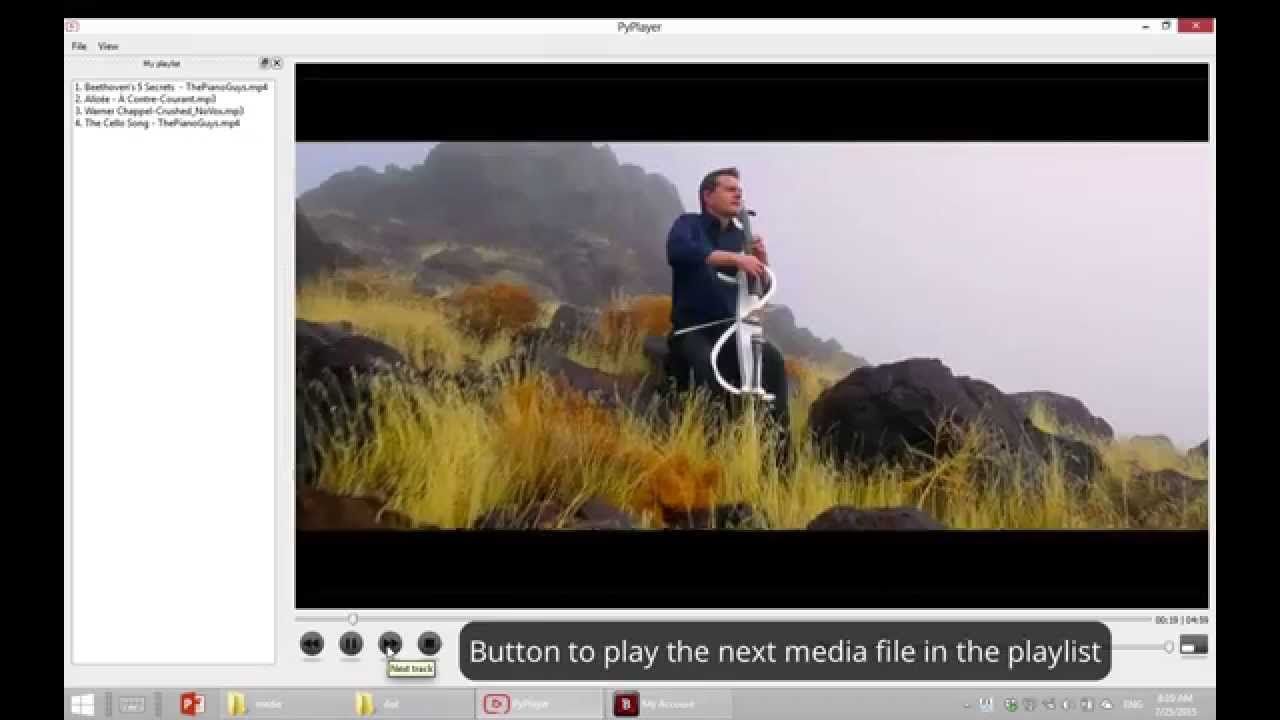 PyPlayer: A Python-based media player designed with PyQt
