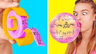 حيل مدرسية عبقرية! || حيل سرية وماكرة لقهر مشاكلك المدرسية