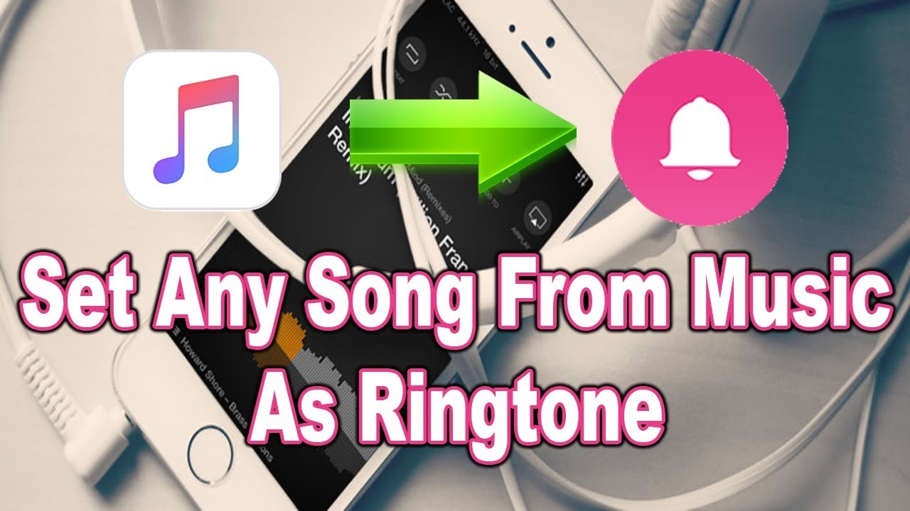 how to set ringtone on iphone 8 plus from music library