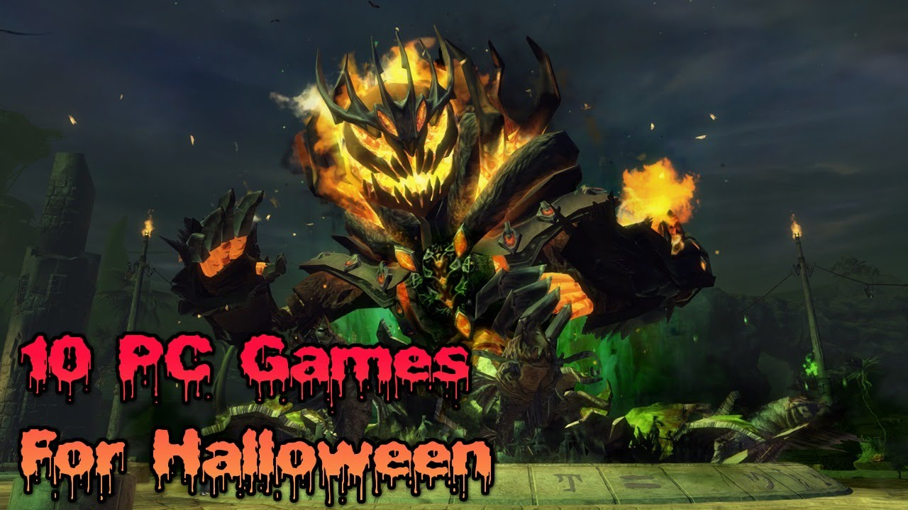 10 Pc Games For Halloween Youtube