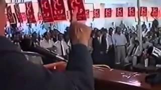 Alparslan Türkeş , Devlet Bahçeli ye Ders Niteliğin de Konuşması