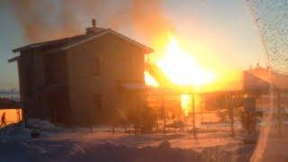 Пожар в Комарова
