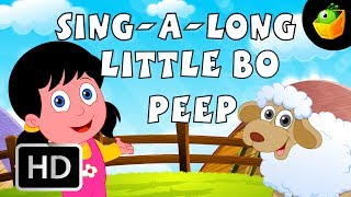Karaoke: Wenig Bo Beep - Songs Mit Lyrics - Cartoon/Animated Rhymes For Kids