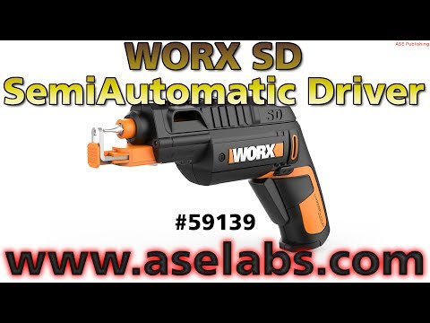 WORX SD SemiAutomatic Driver Review - ASE Labs