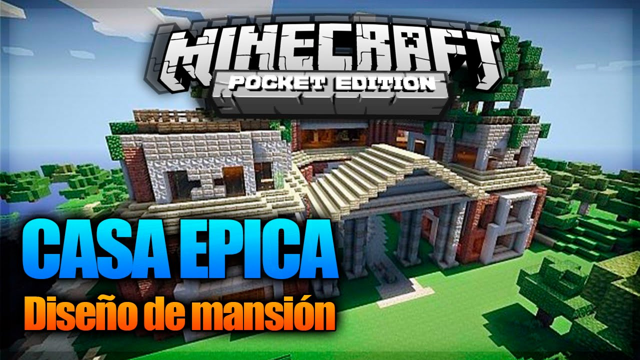 La mejor casa mansion minecraft pe pocket edition - La mejor casa de minecraft ...