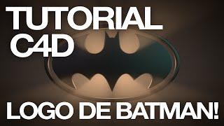 C4D Quicktip - Logo de Batman!