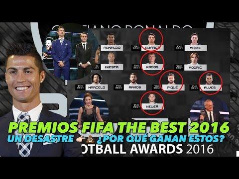 UN DESASTRE LOS PREMIOS FIFA THE BEST 2016 | ¿POR QUE GANAN ESTOS? ¿CUAL ES EL CRITERIO? |