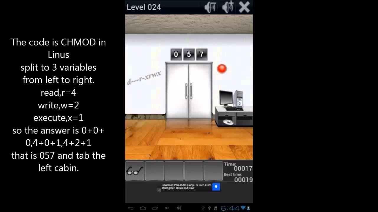 sc 1 st  YouTube & 100 Doors Remix Level 24 Walkthrough - YouTube