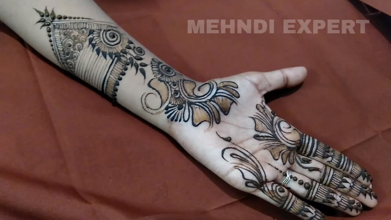 Mehndi Designs Learning Hands : Cool henna designs learn indo arabic design for hand