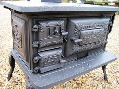 CAST IRON STOVES HERITAGE HAMLET  TRADE PASIFIKA PREVIEW