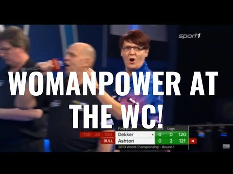 WOMANPOWER IN THE ALLY PALLY! Lisa Ashton vs Jan Dekker  World Championship 2019 R1