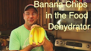 Super Simple Banana Chips - How to Make Dried Bananas the Easy Way