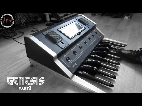Moog Taurus Bass Pedal (1976) The Bass Sound Of Genesis And Steve Hackett Part2