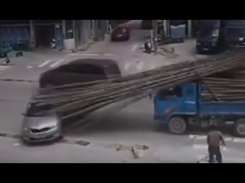 Жесткие аварии и ДТП 2017 №2