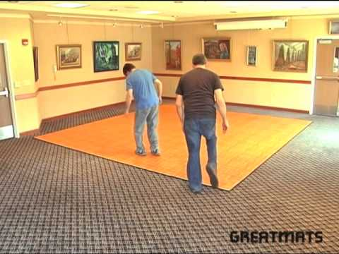 Portable Dance Floor Tile - Greatmats