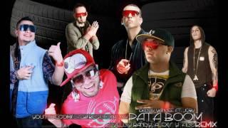Daddy Yankee ft Jory, Jowell Y Randy, Alexis Y Fido - Pata Boom Remix - Reggaeton 2011