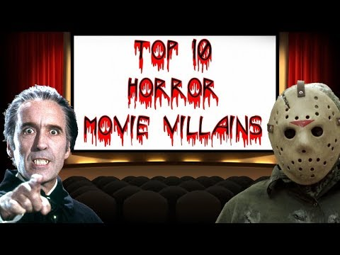 Rogue's Top 10 Horror Movie Villains (10K Subs Special)