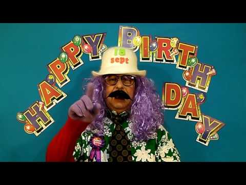 HAPPY BIRTHDAY song SEPTEMBER 18th