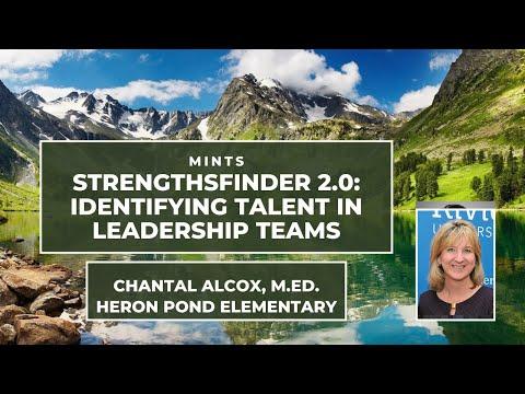 STRENGTHSFINDER 2.0 IN THE WORKPLACE: Chantal Alcox, Heron Pond Elementary School