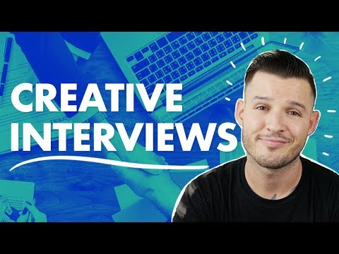 Creative Interviews | Interviewing for Design Jobs
