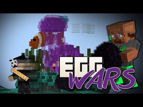 """Dansk Minecraft - Egg Wars - """"EN HACKER JOHN?!"""""""