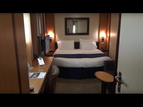 Inside Stateroom Tour on Royal Caribbean Serenade of the Seas Cruise Ship