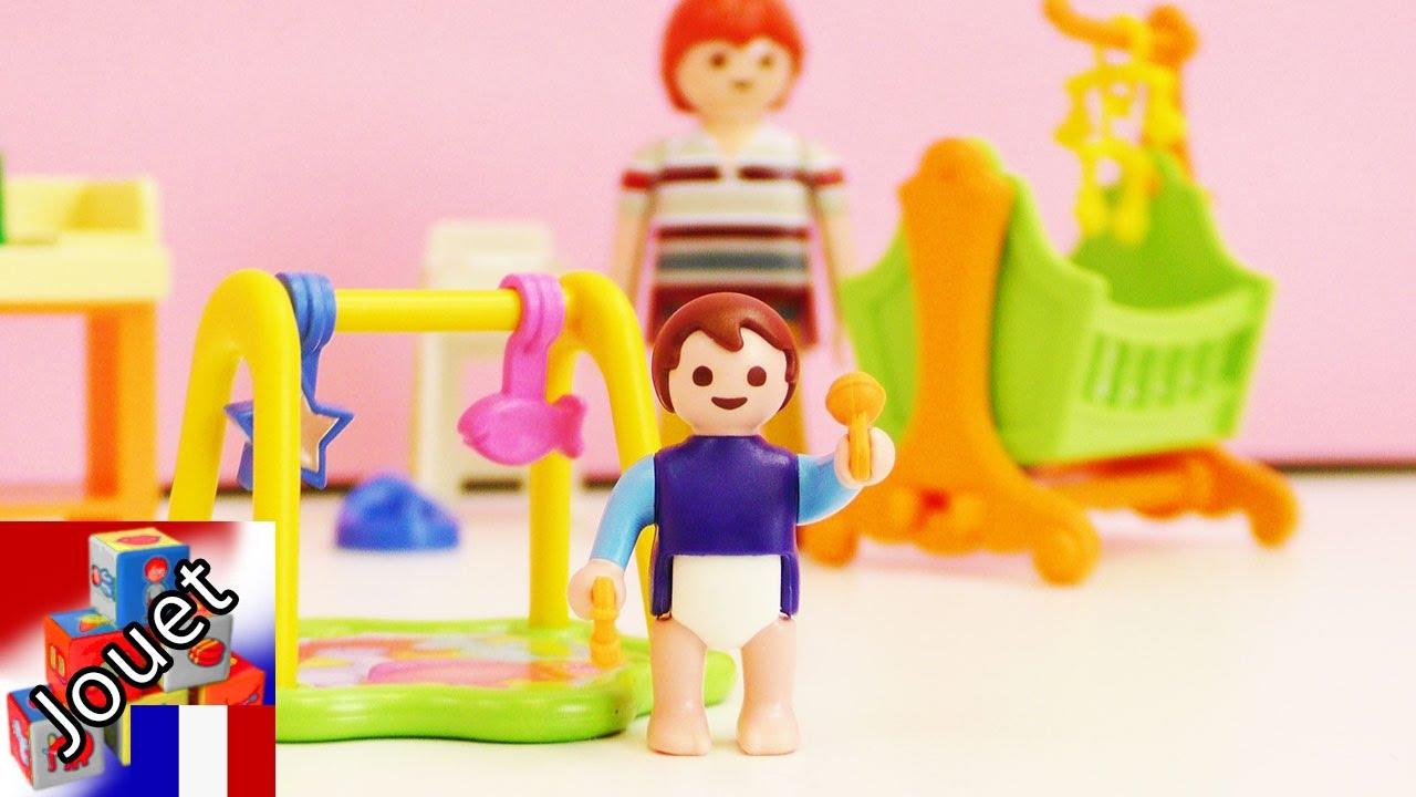La chambre d 39 enfants playmobil 5304 contient un for Chambre d hautes