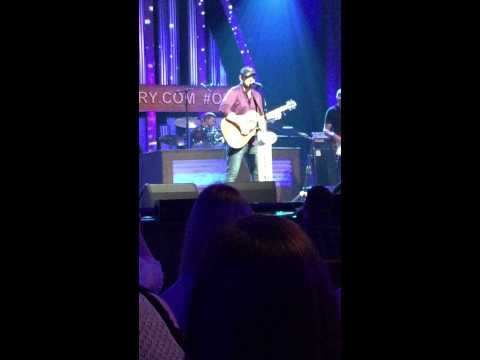 Chris Young, When You Say Nothing At All, 6/10/15, Fan Club Party, Grand Ole Opry