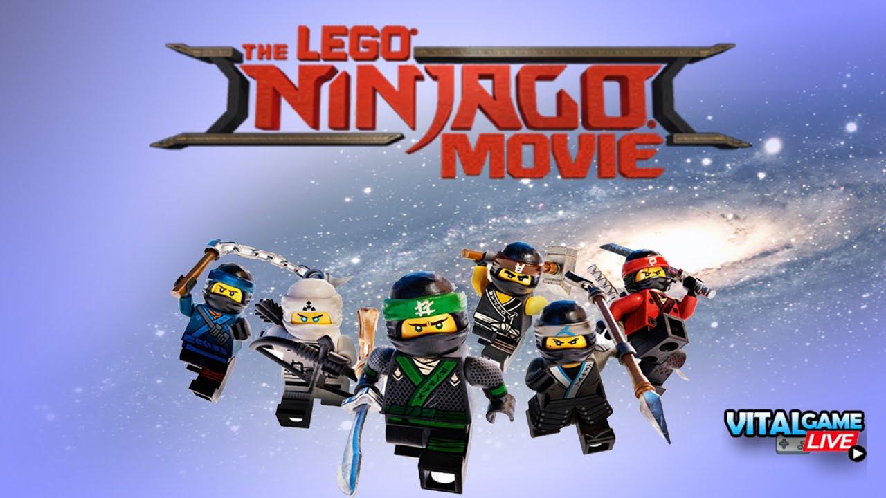 Lego Ninja Go grátis PS4 Slim - Bate-papo com inscritos..